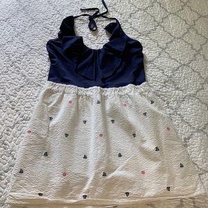 Lilly Pulitzer Quinn Resort Nautical Halter Dress